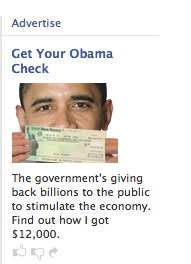 facebook banner ad