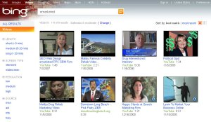 bing video results