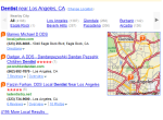 yahoo local results based off of zip code